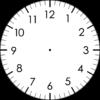自閉症児者視覚支援の時計カード