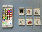 自閉症 絵カード スケジュール カレンダー スマホ アプリ イラスト