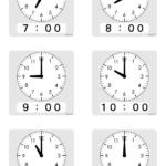 自閉症養育向けの時計絵カード(ICT普及が療育のハードル?)