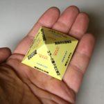 ピラミッド教育アプローチのピラミッドモデル展開図
