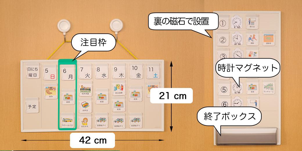 コバリテ視覚支援スクールキット 設置説明 諸元