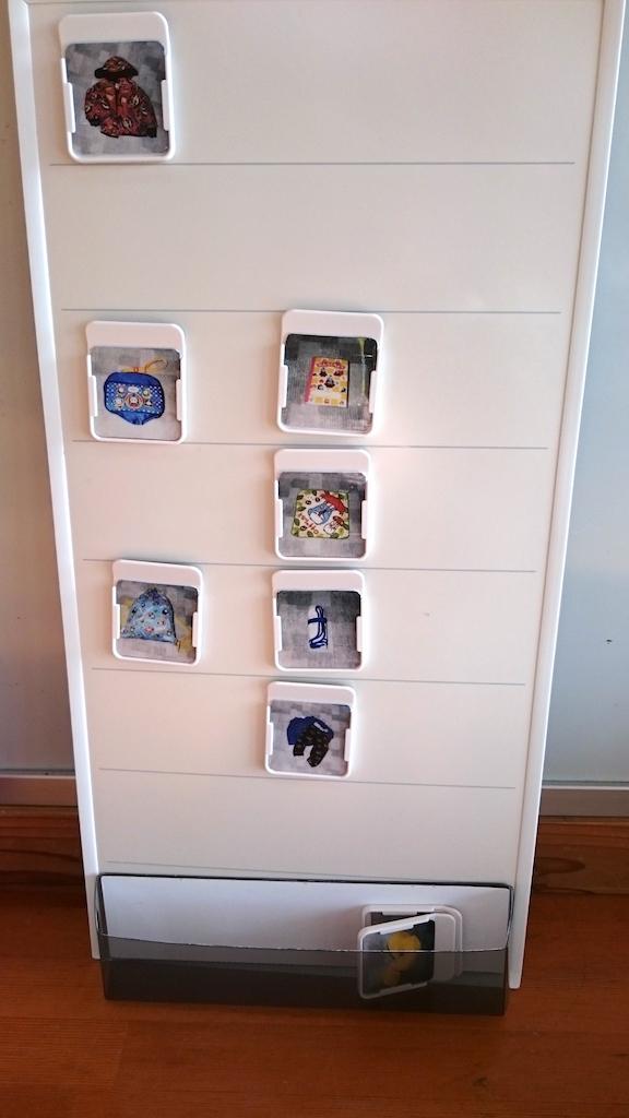 自閉症 スケジュール 絵カード コバリテ お客様の使用例